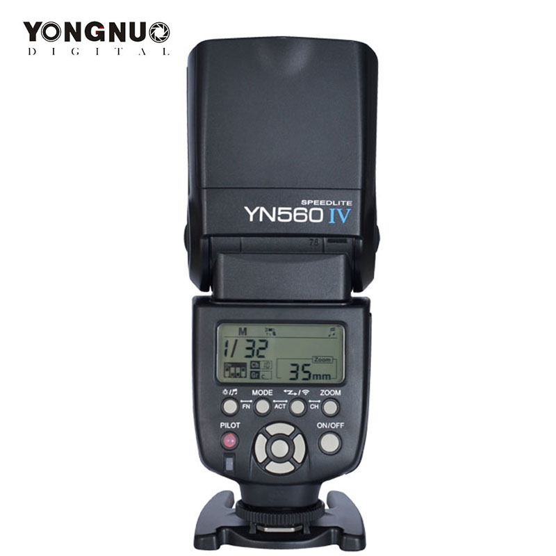 yongnuo YN 560 IV yn560iv YN 560IV 2.4G Wireless Master & Group flash Speedlite For Canon Nikon Pentax essentialap Cameras-in Flashes from Consumer Electronics    1