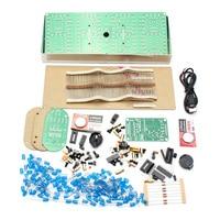 Large Screen Remote Clock Electronic DIY Module Kit Aluminum Cover