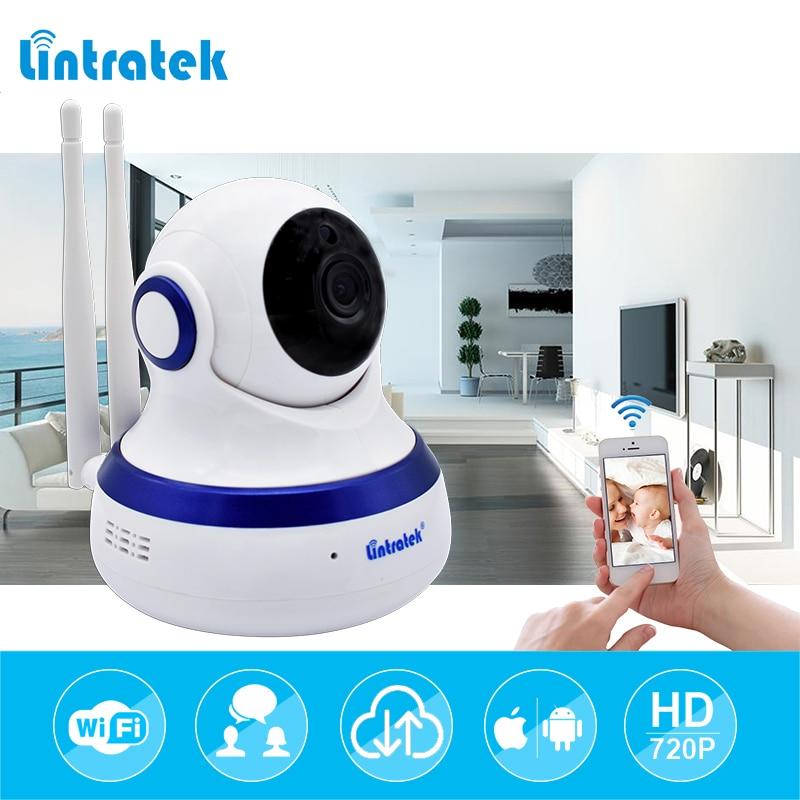 Lintratek hd 720P IP Camera WIFI 1.0MP CCTV Video Surveillance P2P Home Security Dual Antennas WiFi Baby Monitor Wireless Camera цена 2017