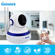 hot deal buy lintratek hd 720p ip camera wifi 1.0mp cctv video surveillance p2p home security dual antennas wifi baby monitor wireless camera