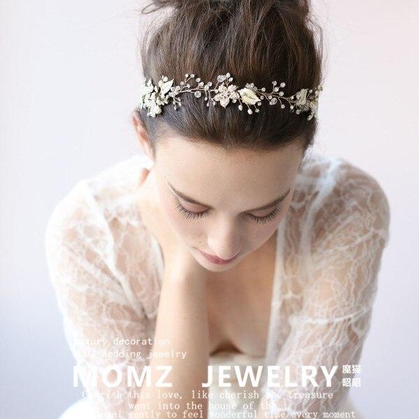 Handmade Wedding Hair Accessories Wedding Tiara Headband Bridal