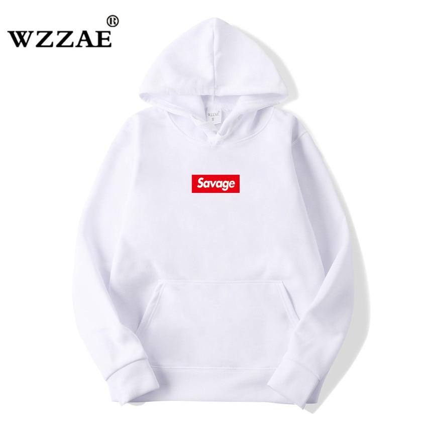 WZZAE 2018 New 21 Savage Street Wear Wool Cotton Suprem