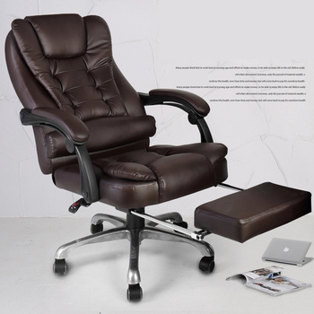 Computer chair ergonomic with footrest  1