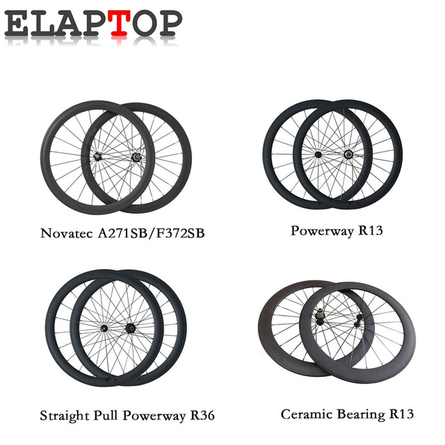 50mm straight pull 23mm width wheelset 700c ceramic bearing clincher tubular road bike carbon wheels custom duty included