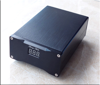 USB + DC5521 DC5V 7.5V 9V 12V 16V 24V USB + DC5521 Dual Output Port Ultra Low Noise DC Linear Regulated Power Supply