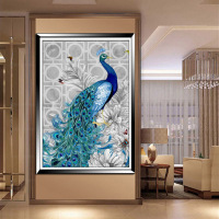 32*45cm New 5D crystal embroidery diy crystal Painting peacock pictures mosaic Needlework crystal picture home decor canvas
