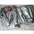 Бесплатная поставка Китайских людей Silk Район 2 шт. Ночное Одеяние пижамы пижамы Наборы Ванна Платье L XL XXL SH003