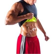 New Men's Sauna Vest Sweat Shapers Shirt Black Running Shirt Male Shaper Tee Slimming Waist Trainer Corsets Shapewear