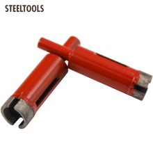 STEELTOOLS Diamond marble saw 6-30mm  wet core drill marble/granite/brick/stone bit hole herramientas ferramentas dremel tools