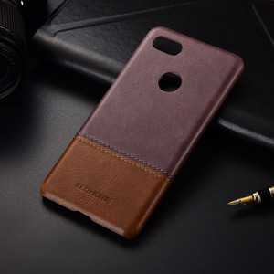 Image 4 - Thin retro genuine leather case For google pixel 2 3 4 XL back cover 3a 2xl 3xl 4xl phone shell bumper