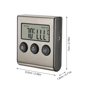 Image 5 - MOSEKO Digital Kitchen Thermometer Oven Food Cooking Meat BBQ Probe Thermometer With Timer Milk Water Temperature Cooking Tools
