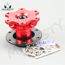Steering Wheel Quick Release Hub Adapter Removable Snap Off Boss packing size 11*11*11 color red