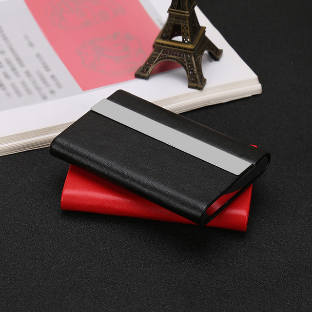 Women Men Id Credit Card Protector Wallet Holder Package Box New Leather Holders