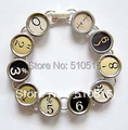 Fashion Typewriter Punctuation Key Bracelet