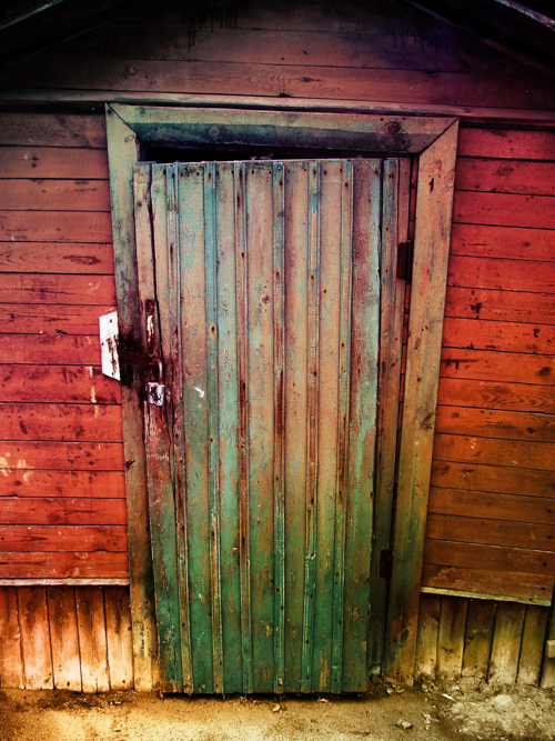 HUAYI Rustic Door Photography Backdrop Scenery Custom Photo Portrait Studios Background Old Rural XT4781 In From Consumer