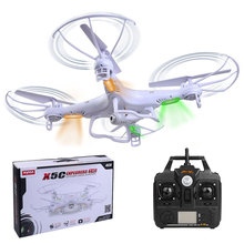 Hot New X5C X5C-1 2.4Ghz 4CH 6-Axis Gyro RC Quadcopter Drone Helicopters UFO 0.3MP +Camera RTF Free