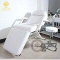 Cama da beleza massagem corporal. Lavar a cama fisioterapia. Dobre os cílios cadeira cadeira de tatuagem. Cama cuidados de enfermagem