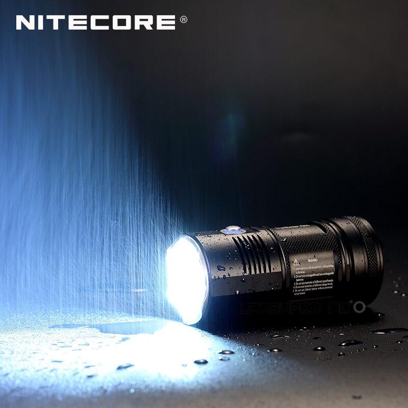 New product 2015 2016 Tiny Monster Nitecore TM06S 4000 Lumens CREE XM L2 U3 LED Searchlight Flashlight - 2