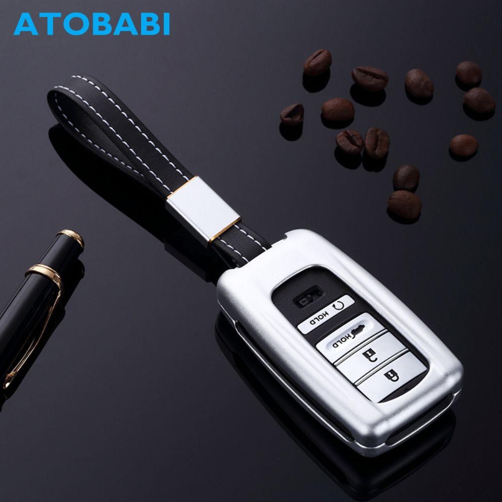 ATOBABI Car Key Case Aluminum Alloy Smart Auto Remote Fob