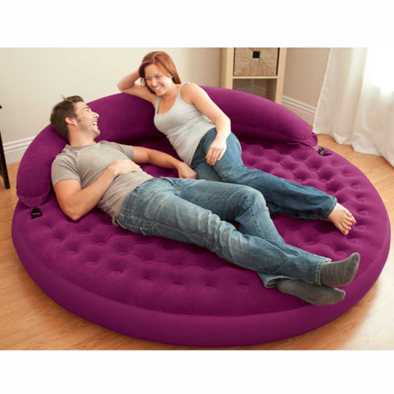 5099b8992e7 Detail Feedback Questions about Inflatable Mattress Lounge Air Bed Lounge Daybed  Outdoor Sofa Round Poolside on Aliexpress.com