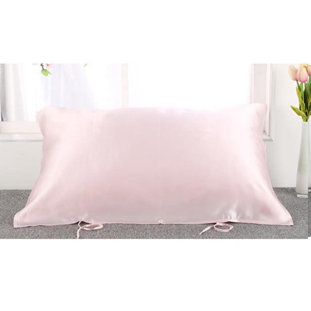 100% Pura Seta di Gelso Federa 16 momme Asciugamano Cuscino Copertura del Cuscin