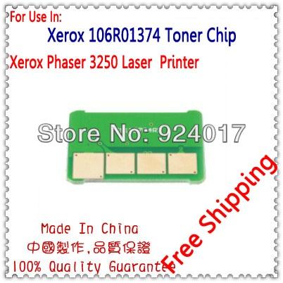 Для xerox 3250 тонер чип, Reset Тонер чип для Xerox Phaser 3250 3250D 3250DN принтер, для Xerox Тонер 106R01373 106R01374 чип