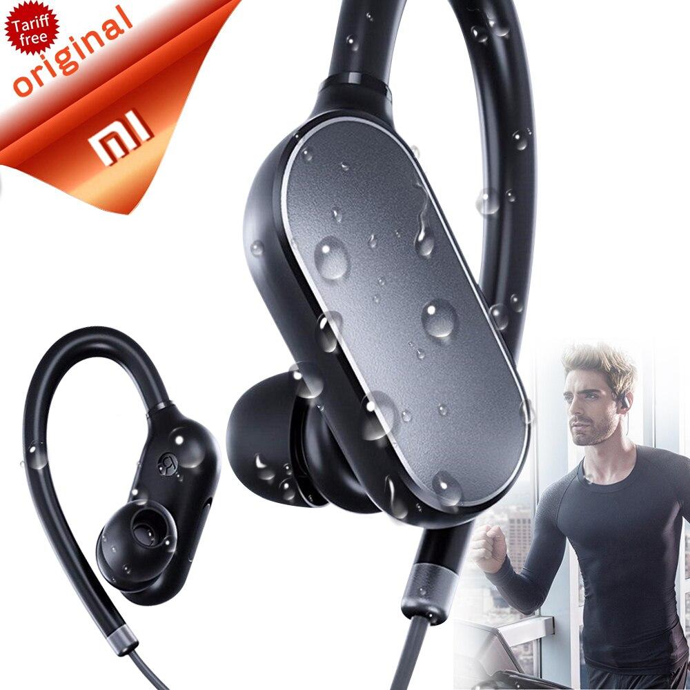 Оригинальный Xiaomi mi Bluetooth наушники гарнитура с mi c Спортивные Беспроводные Bluetooth 4,1 водостойкие Xiao mi fone de ouvido купить на AliExpress