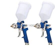 Mini Aire HVLP Pistola de Pulverización de 1.4mm o 1.7mm Muebles/Madera Automotriz Imprimación de Pintura Pulverizador Pistola