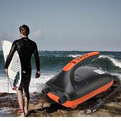 12V SUP Max 20PSI Luftpumpe Kompressor LCD Display Elektrische Luftpumpe für Aufblasen SUP Paddle Boards Boote Flöße pool Spielzeug
