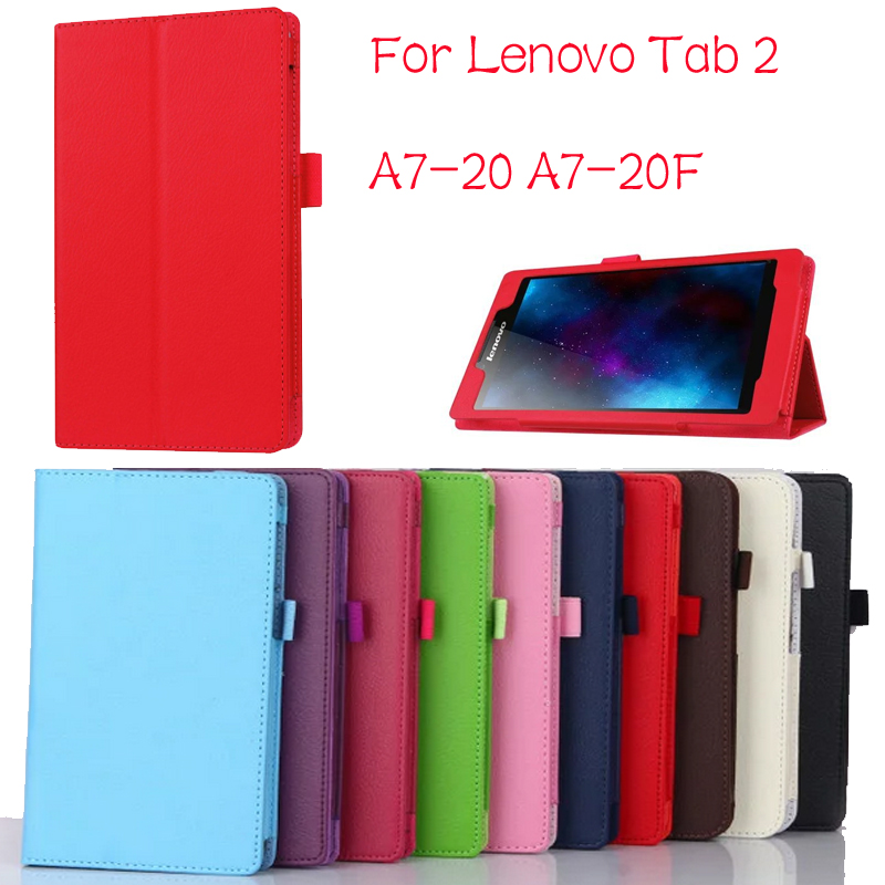 New Slim Folio Bracket For Lenovo A7-20F Standing Tablet Cover for Lenovo Tab 2 A7 20 Flip Protective Tablet Case new slim folio bracket for lenovo a7 20f standing tablet cover for lenovo tab 2 a7 20 flip protective tablet case