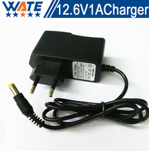 12.6V 1A Charger 3S 12.6V Smart Li-ion Battery Charger 12V Lithium polymer battery Charger Free shipping