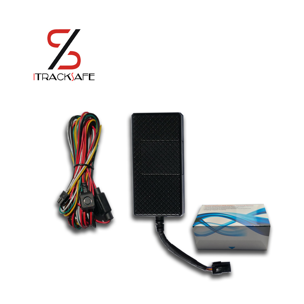 real time mini gsm gprs motorcycle motor vehicle car gps tracker locator tracking locating system with engine cut sos microphone