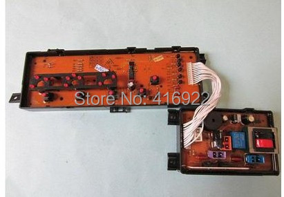 Free shipping 100% tested for Rongshida washing machine board cwm956-a motherboard computer program control on sale new for galanz washing machine board computer board 268110000081 xqg60 a712 xqg70 a710 motherboard on sale