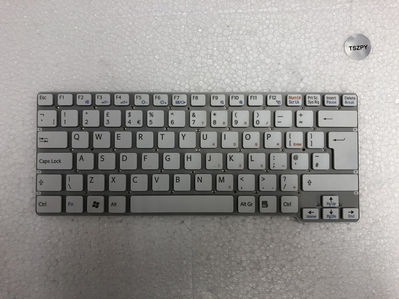 NEW Laptop <font><b>Keyboard</b></font> For Sony Vaio VPC-<font><b>CW</b></font> VPC <font><b>CW</b></font> VPCCW CW16EC CW18FC uk version <font><b>keyboard</b></font> image