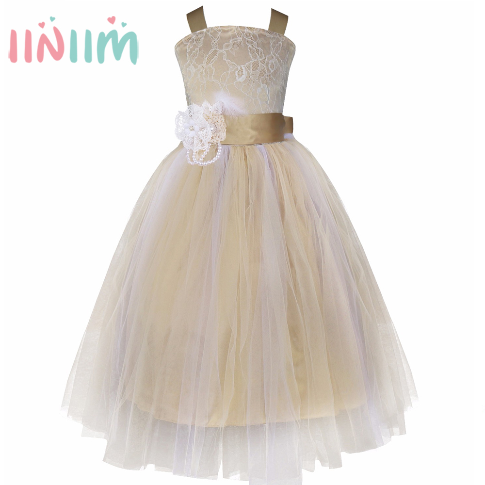 Elegant girl for wedding party dresses bridesmaid white for Elegant wedding party dresses