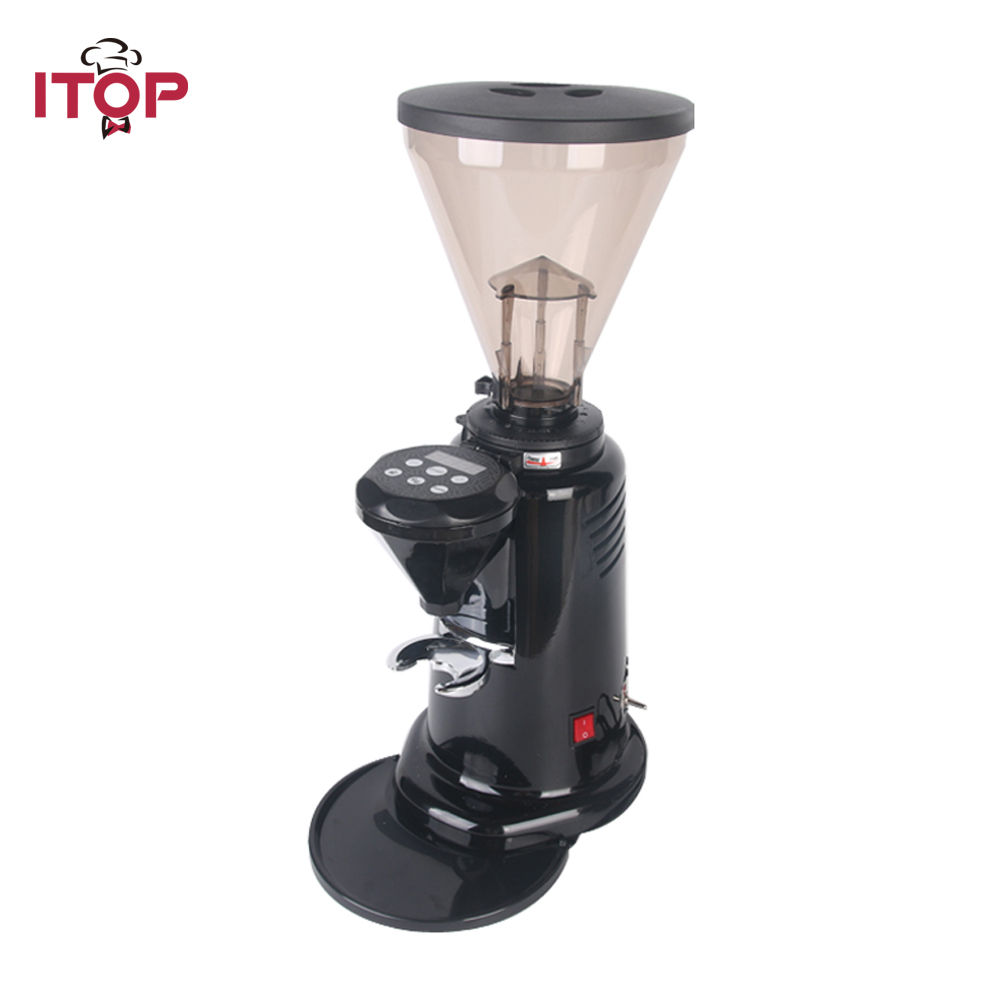 ITOP CG-700AC Professional Coffee Grinder Electric Coffee Bean Grinding Machine Commercial Coffee Bean Grinder xeoleo professional coffee grinder commercial coffee powder milling machine electric coffee bean grinding machine coffee maker