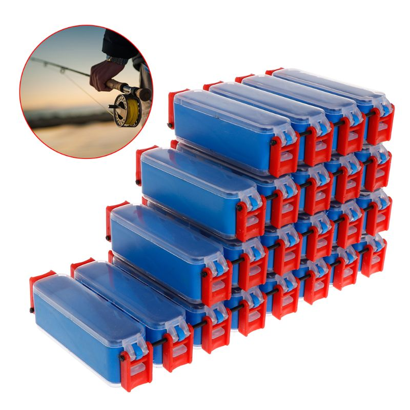 Fishing Tackle Box Bait Lure Hooks Box Bait Storage Case 8/10/12/16 Compartment Fishing Tool Tackle Sorting Box For Pesca