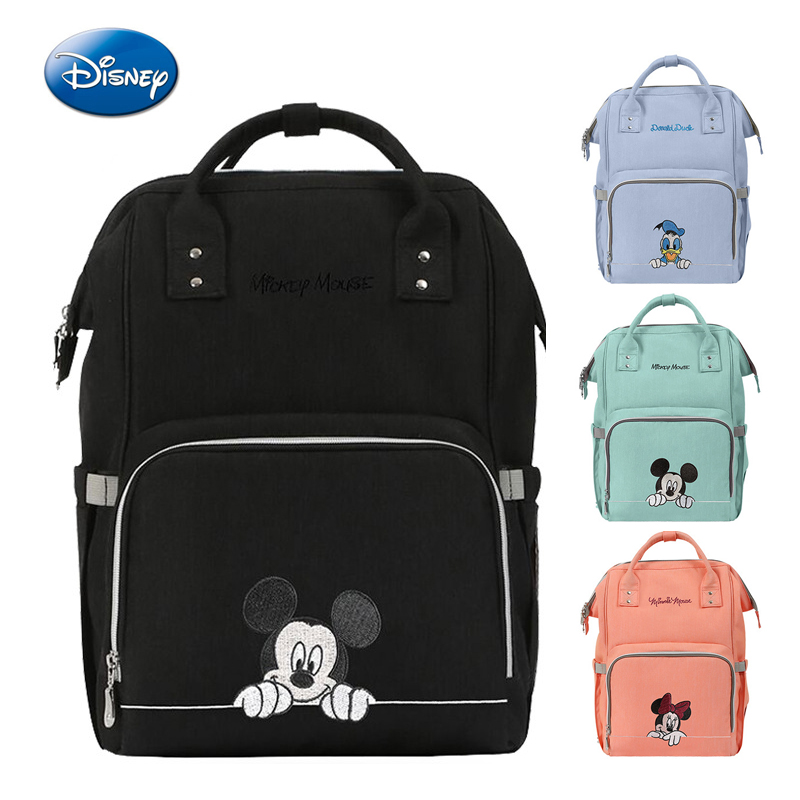 Disney Brand Mommy Maternity Nappy Bag  Mommy Storage Care Bags Large Capacity Baby Diaper Bags  Multifunction Travel Backpack