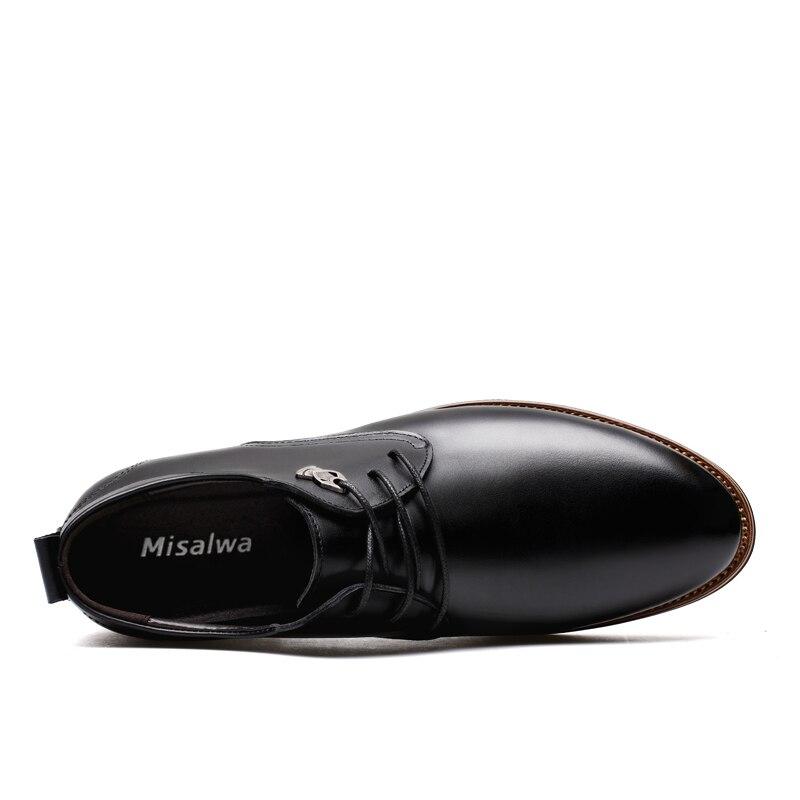 b6e34e400f9 Aliexpress.com: Comprar Misalwa 2019 Zapatos de vestir de los hombres de estilo  Simple de la calidad de los hombres de Oxford zapatos de encaje de los ...