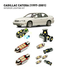 Led interior lights For Cadillac catera 1997-2001 17pc Led Lights For Cars lighting kit automotive bulbs Canbus Error Free все цены