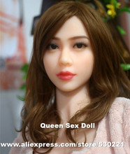 NEW#56 Top quality TPE sex doll head, japanese adult doll head for love doll, real feel sex toys, oral sex products