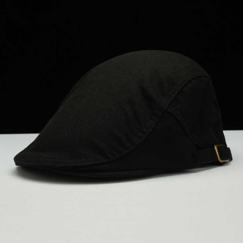 8f9f70e60d12b ... Male New Fashion Gatsby Cap Men Newsboy Cap Women berets Casual Ivy Hats  Plain Flat Peaked ...