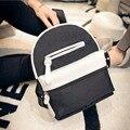 Mujeres del estilo de muy buen gusto mochilas nueva lona de la manera mochila informal para damas hit color mochila de viaje mini girls bolsas escuela, LB2215