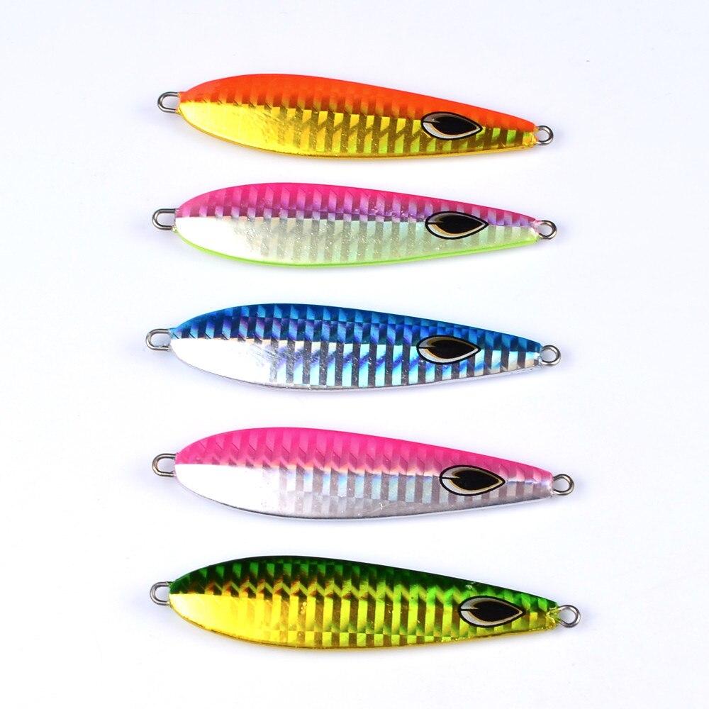 1 шт. рыбы привести 35 г Рыболовная Приманка 5 цветов рыболовные приманки литья приманки глубокий бас рыболовные снасти экспортируется в Япон...