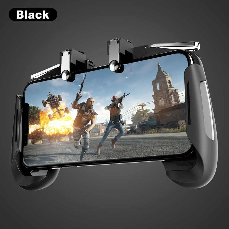 Universal Colorful Gaming Joystick Gamepad Memicu Tombol Api L1R1 Shooter Merenggang Pubg Game Controller untuk Android IOS