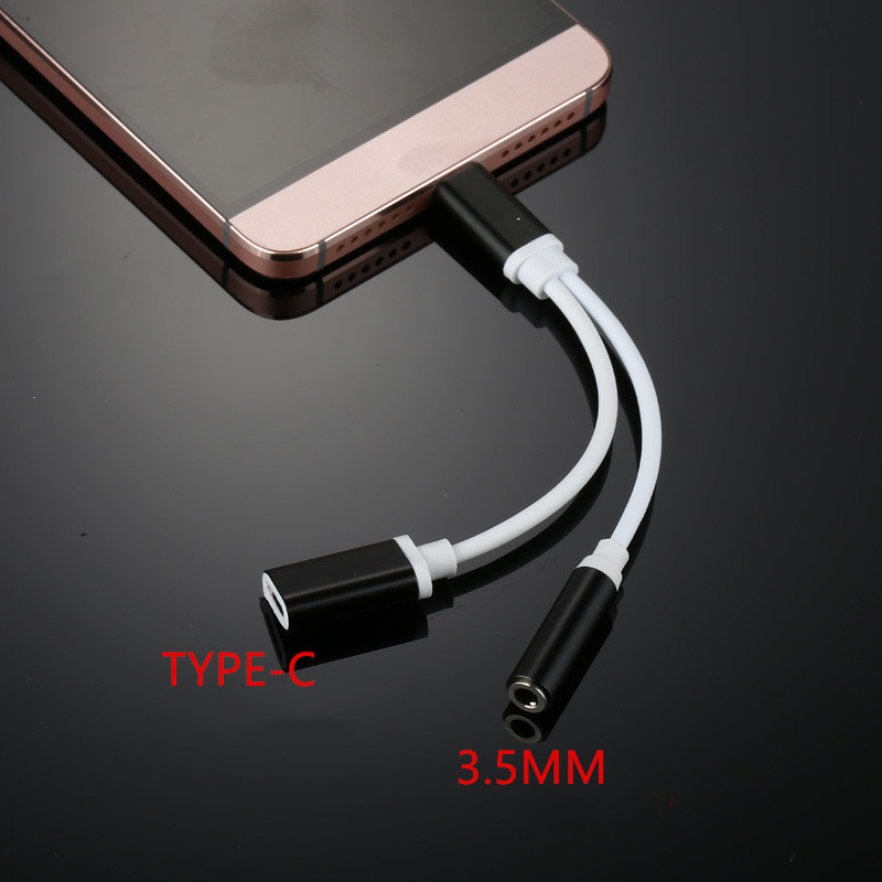Type-c Audio Music Charging Cable USB Type C Male to 3.5 Jack Earphone Audio cable Adapter For Xiaomi Mi6 Letv Le 2 Pro Max 2 mi 313 migix movement music купить дешево в китае