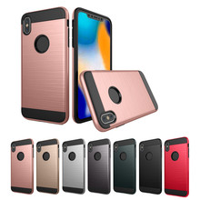 Phone Case Protect Shell Ultrathin Slim Fiber Carbon Silicon