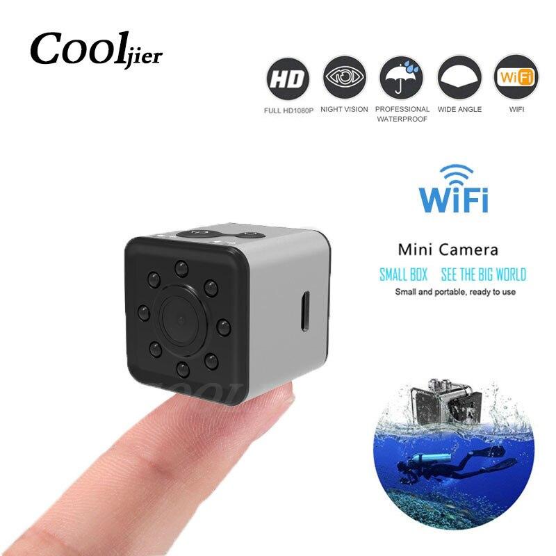Nuevo SQ13 wifi mini cámara pequeña cam HD 1080 p video Sensor de visión nocturna Cámara Micro cámaras deportes DV DVR movimiento Camcorder