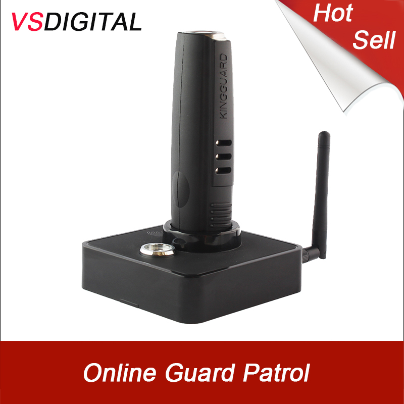 Free Shipping Hotselling Rugged Guard Patrol Device With Total Rubber Cover GPRS WIFI Ethernet Downloader Transfer Data No Cable(China)