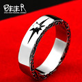 Beier new store 316L Stainless Steel ring high quality GORO'S Tail ring for men  fashion jewelry BR8-375